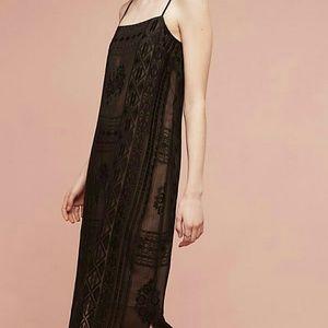 Floreat Embroidered Luna Slip Dress
